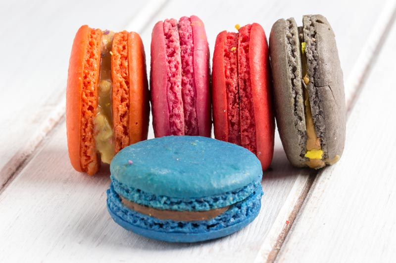 Reality Internet Marketing - Cake Portfolio for Products cupcakes, macarons, macaroons